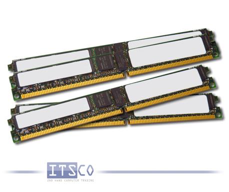 Speicher IBM 4x 4GB DDR2 PC2-5300P 677MHz ECC FRU 46C0519