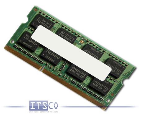 Arbeitsspeicher Notebook 4GB DDR3-SDRAM PC3-10600S