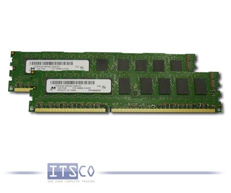 Speicher diverse Hersteller 2GB Kit (2x 1GB) PC3-10600E
