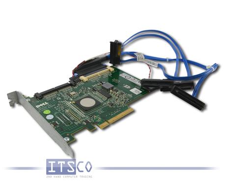 Dell SAS RAID Controller Karte PERC 6/IR JW065 PCI-E x8 UCS-61