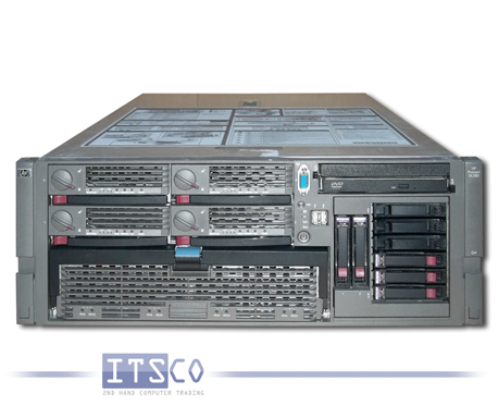 Server HP ProLiant DL580 G4 4x Intel Dual-Core Xeon 7140M 2x 3.4GHz