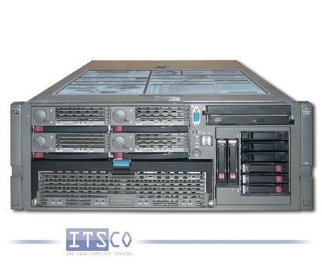 Server HP ProLiant DL580 G4 4x Intel Dual-Core Xeon 7140M 2x 3.4GHz
