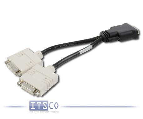 Dell Kabelpeitsche DMS-59 auf 2x DVI Y-Kabel