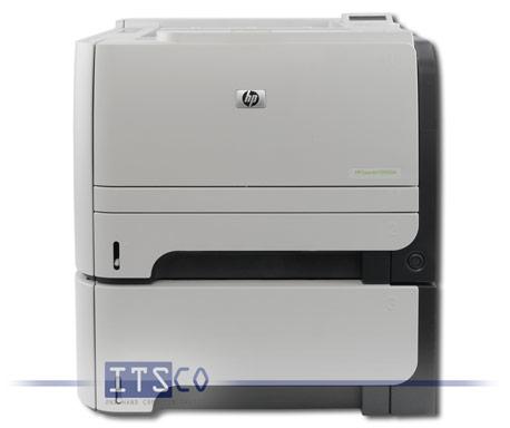 Laserdrucker HP Laserjet P2055dn mit extra Papierfach 500 Blatt