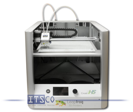 3D-Drucker Leapfrog A-01-93 Creatr HS Dual Extruder Starter Package inkl. 4x PLA- und 2x ABS-Filamen