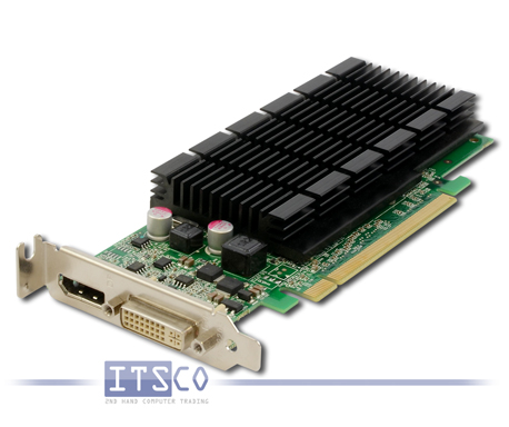 Grafikkarte Fujitsu NVidia GeForce 405 DP 512MB PCIe x16 halbe Höhe