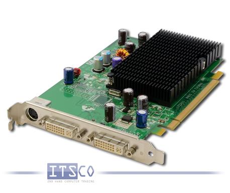 Grafikkarte nVidia GeForce 6200TC 128MB PCIe x16 volle Höhe