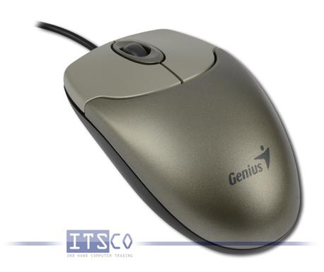 Maus Genius NetScroll 120 Optisch 3-Tasten Scrollrad PS/2
