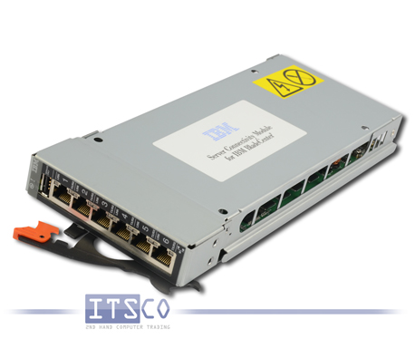 IBM 6-Port Gigabit Ethernet Switch Modul FRU 39Y9327
