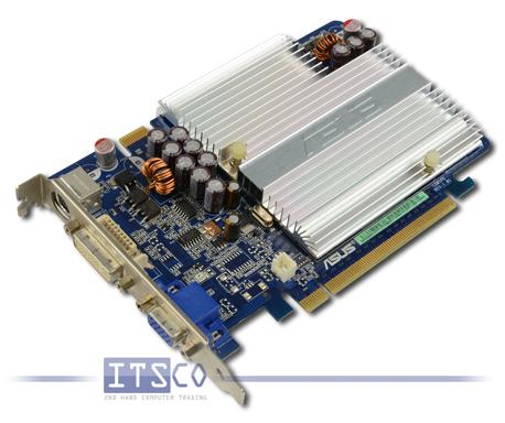 Grafikkarte Asus Nvidia Geforce 7600GS Silent PCIe x16 volle Höhe