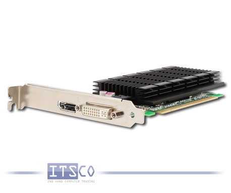 Grafikkarte Fujitsu NVidia GeForce 605 DP 1GB PCIe x16 volle Höhe