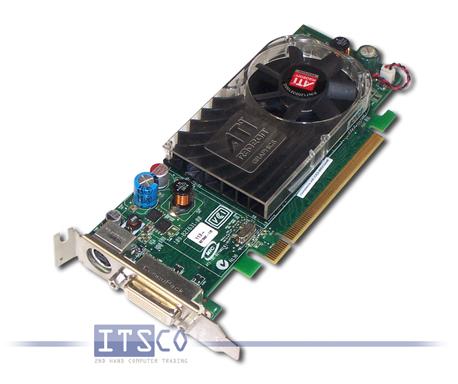 10x Grafikkarte Dell ATI Radeon HD 3450 256MB PCIe x16 Halbe Höhe