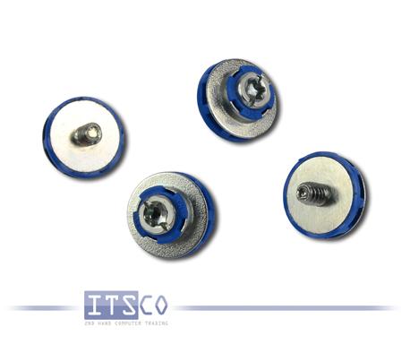 4x HP Festplatten Einbauschrauben gummi-isoliert P/N: 450712-001
