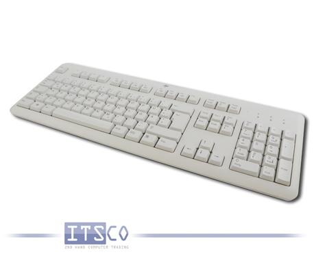 Tastatur HP KU-1156 Weiß USB-Anschluss Deutsch