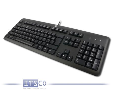 Tastatur HP KU-1156 Schwarz USB-Anschluss Deutsch