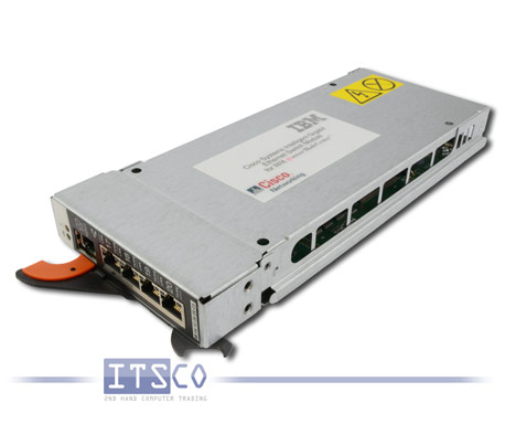 Cisco 4-Port Gigabit Switch für IBM Bladeserver Rack FRU 13N2285 / 32R1895
