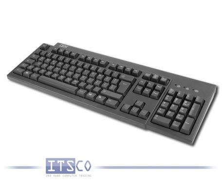Tastatur KB-9910 PS/2-Anschluss Schwarz Italienisch (QWERTY)