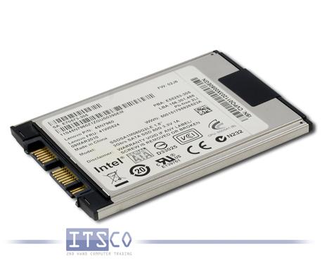 """Solid State Disk Intel SATA SSD 80GB 1,8"""" FRU 45N8017"""