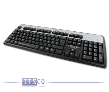 5x Tastatur HP KB-0316 PS/2-Anschluss Belgisch Clavier Belge AZERTY