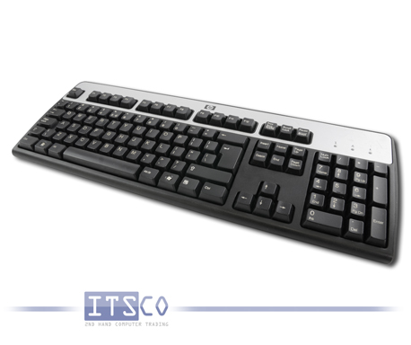 5x Tastatur HP KB-0316 PS/2-Anschluss International Keyboard International QWERTY
