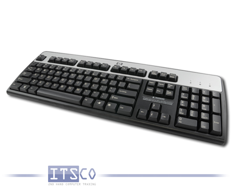 3x Tastatur HP KB-0316 PS/2-Anschluss US-Englisch Keyboard US-English QWERTY