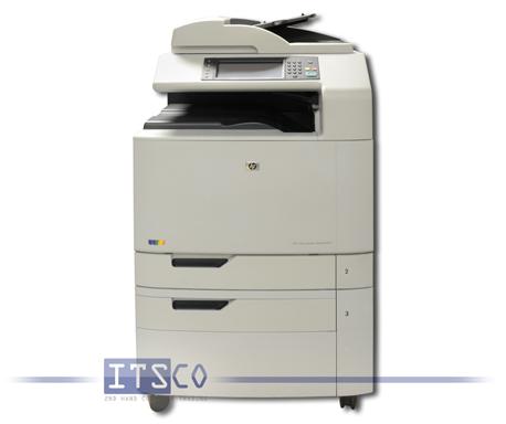 Farblaserdrucker HP Color LaserJet CM6030 MFP Drucken Scannen Kopieren