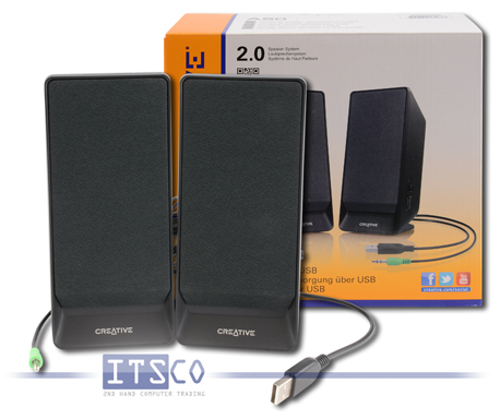 Lautsprechersystem Creative A50 2.0 Sound