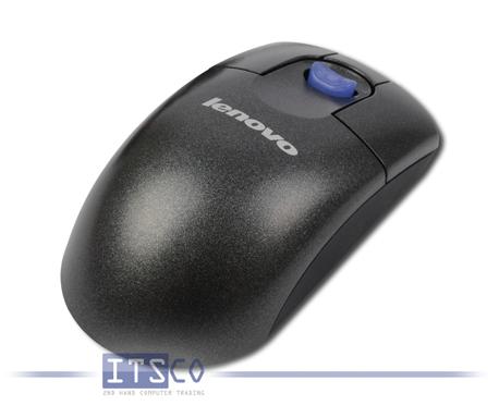 Maus Lenovo Optisch 3-Tasten Scrollpoint USB