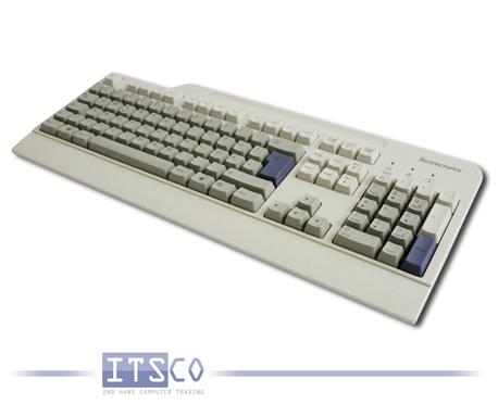 Tastatur Lenovo SK-8825 hellgrau 105 Tasten USB-Anschluss