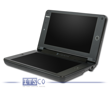 Tablet-PC Toshiba Libretto W100 Intel Pentium Dual-Core U5400 2x 1.2GHz