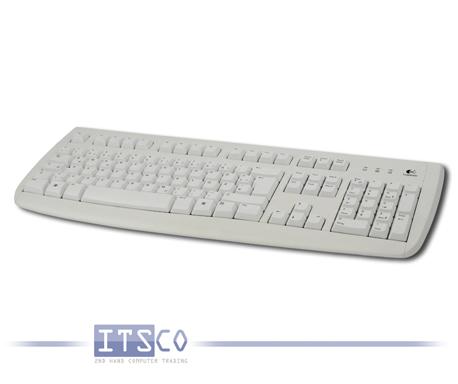 Tastatur Logitech Deluxe 250 Keyboard Weiß