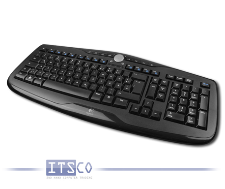 Tastatur Logitech Media Keyboard 600 USB-Anschluss