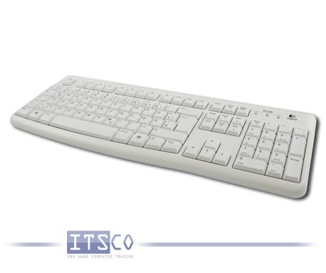 Tastatur Logitech K120 Deutsch QWERTZ 105 Tasten USB-Anschluss