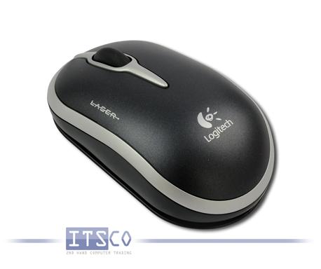 Notebook Maus Logitech NX50 Laser 3 Tasten Scrollrad USB