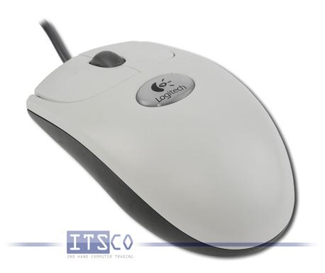 Maus Logitech Optisch 3 Tasten Scrollrad USB M-BT58