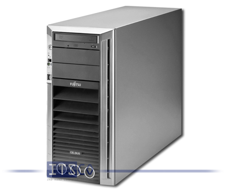 Workstation Fujitsu Siemens Celsius R650 mit Intel Xeon Dual-Core Technology