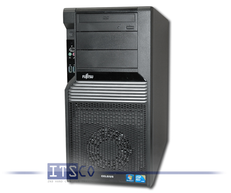 Workstation Fujitsu Celsius R570-2 Intel Quad-Core Xeon E5640 4x 2.66GHz