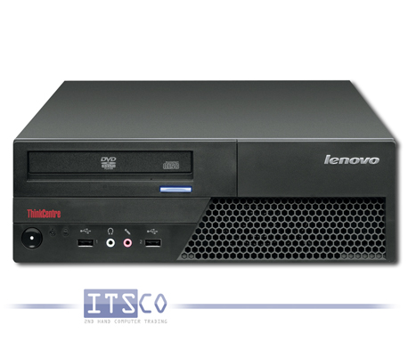 PC Lenovo ThinkCentre M58 Intel Pentium Dual-Core E5200 2x 2.5GHz 7638