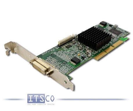 Grafikkarte Matrox Millennium G450 32MB AGP DVI Volle Höhe