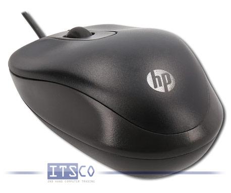 Maus HP Travel Optisch 3-Tasten Scrollrad USB-Anschluss