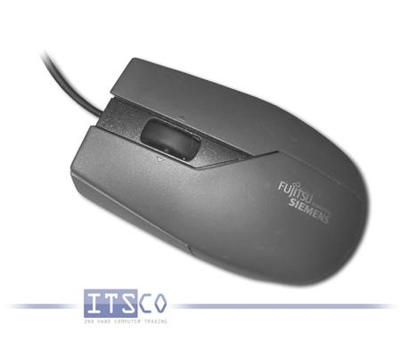 Maus Fujitsu-Siemens Optisch 3-Tasten Scrollrad USB