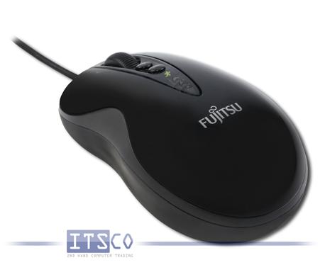 Maus Fujitsu CL3500 Laser 7 Tasten Scrollrad USB