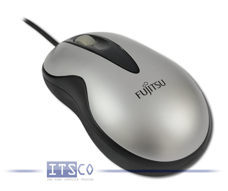 Maus Fujitsu USB MC100 Optisch 3 Tasten Scrollrad USB