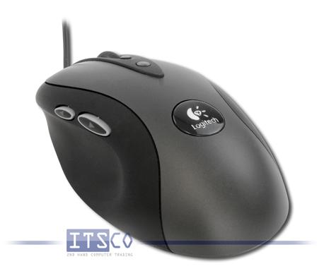 Maus Logitech G400 Gaming Optisch 8 Tasten Scrollrad USB-Anschluss