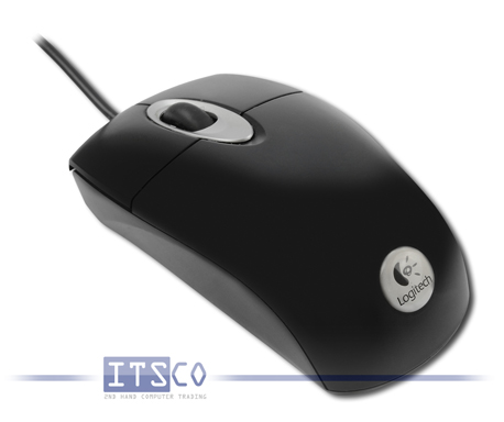 Maus Logitech RX300 Optisch 3 Tasten Scrollrad USB