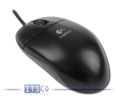 Maus Logitech Optisch 3 Tasten Scrollrad USB M-UAE96