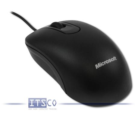 Maus Microsoft Optical Mouse 200 3 Tasten Scrollrad USB