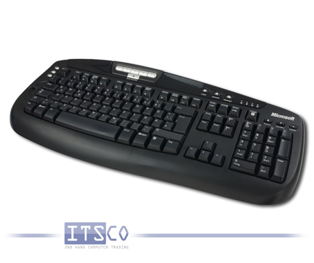 Tastatur Microsoft Digital Media Keyboard 1.0A KC-0405 USB-Anschluss