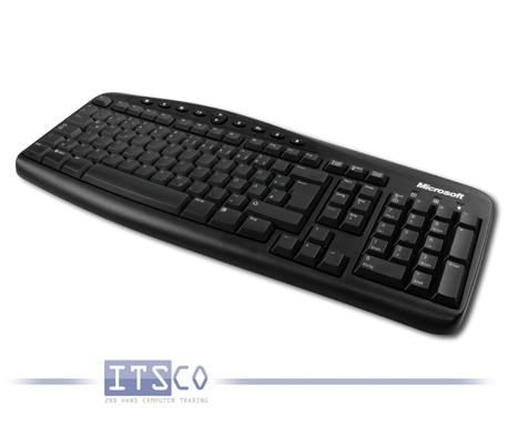 Tastatur Microsoft RT2300 mit PS/2-Anschluss und Multimediatasten