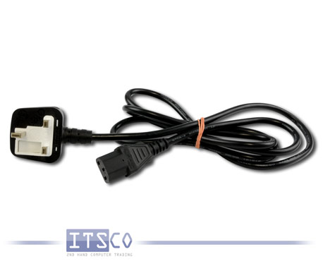 10x Stromkabel / Netzkabel / Kaltgerätekabel 230V UK 3PIN